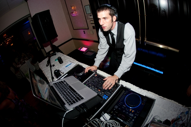 NJ DJ Chris Monaco in Action