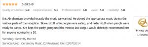 kris 2014 2-07-14 review