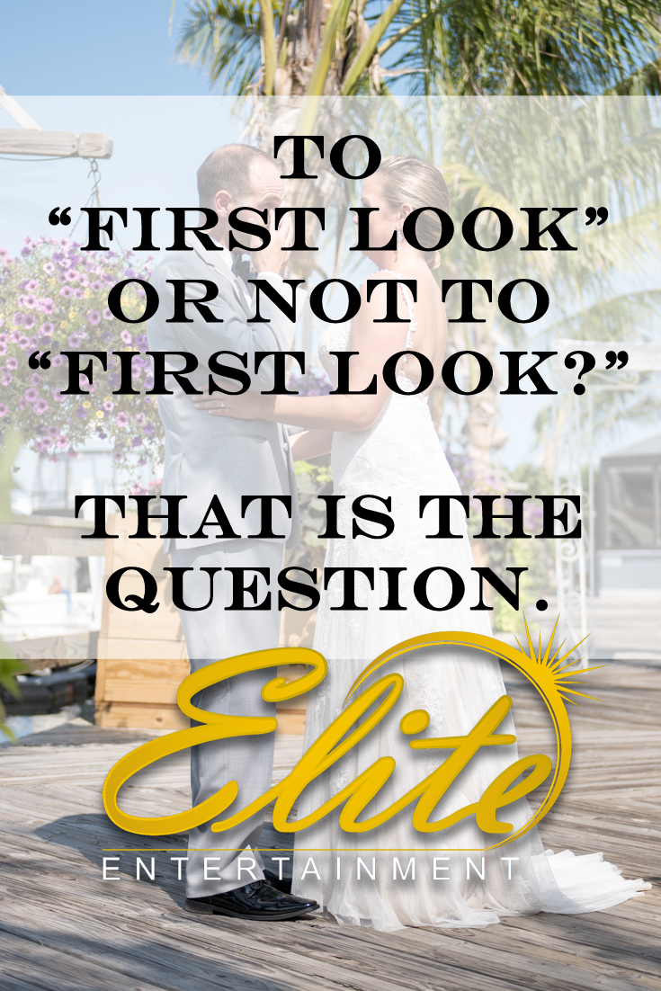 pin - to first look or not to first look