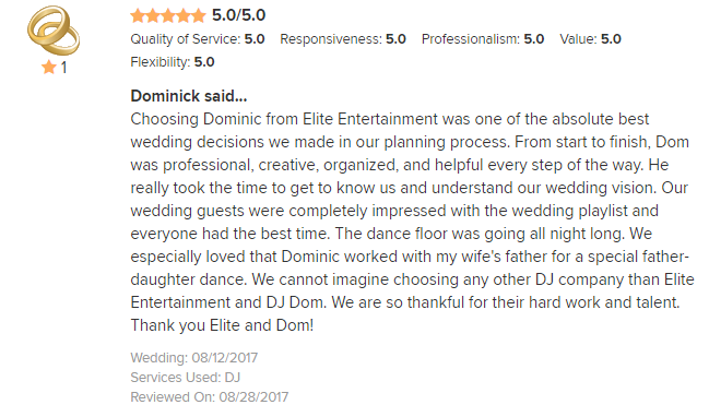 EliteEntertainment_WeddingWireReview_NJWedding_DominicSestito 2017 8-12-17_2