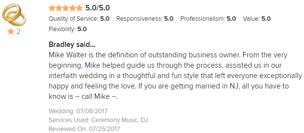 EliteEntertainment_WeddingWireReview_NJWedding_MikeWalter 2017 7-8-17 (2)