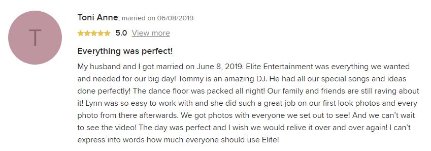 EliteEntertainment_WeddingWireReview_NJWedding_TomMonaco 2019-06-08-2019