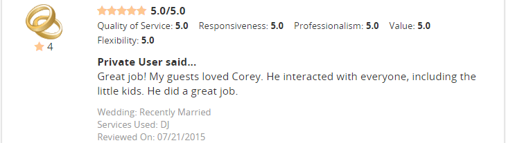 corey 2015 recent15
