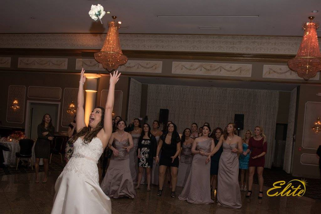 Throwing the Bouquet to the Single Ladies