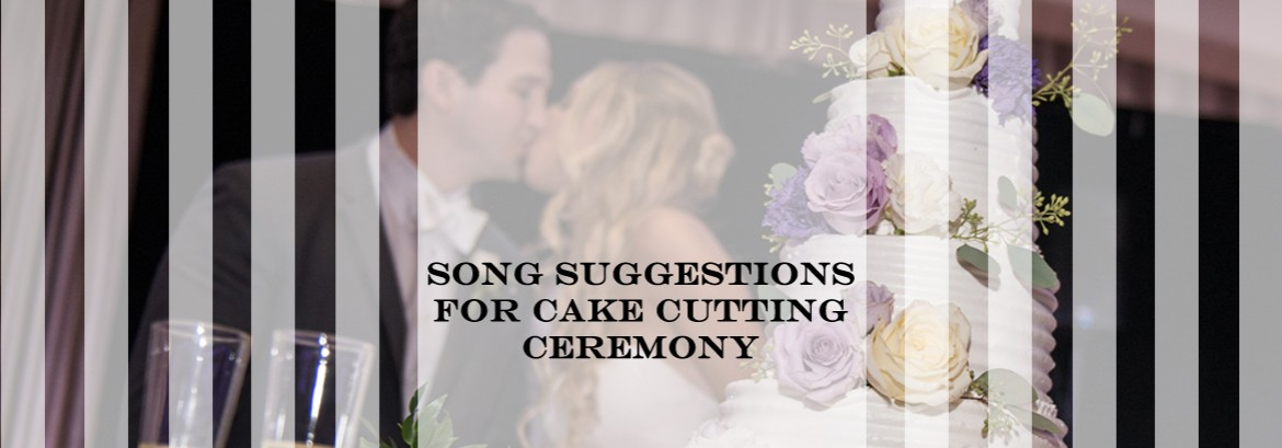 Cake Cutting | Bouquet / Garter Toss | Song Suggestions