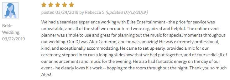 EliteEntertainment_TheKnotReview_NJWedding_AlexCameron 2019 03-22-2019