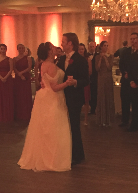 Matthew and Samantha's First Dance