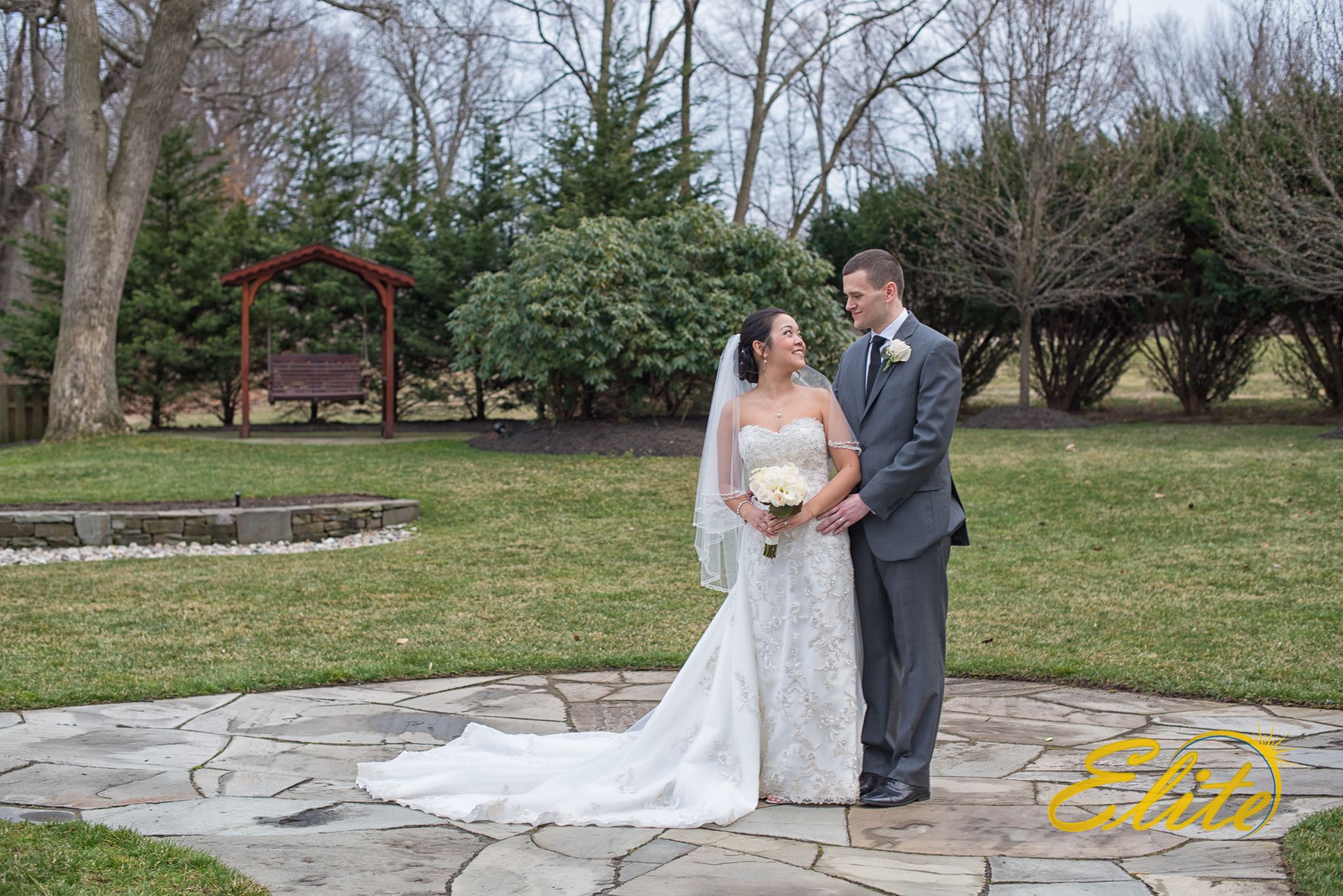 Outdoor photos at The English Manor are a must.  The grounds are so beautiful!