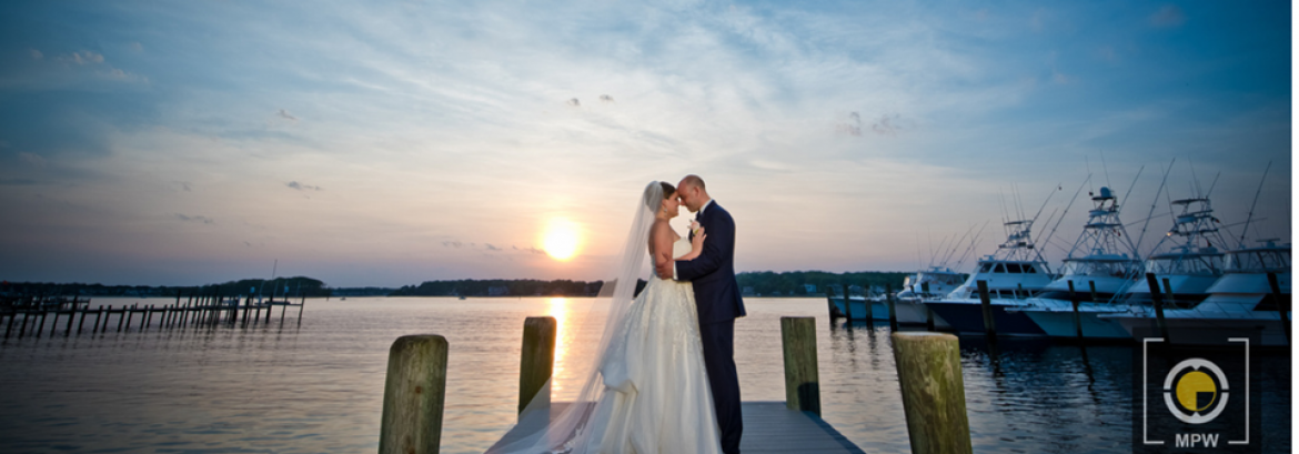 Jess and Steve Celebrate Their Marriage at Clarks Landing
