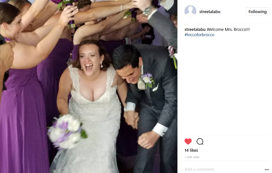 One of their guests uploaded this picture to Instagram. I found it using their hashtag. Every couple nowadays should use a personalized hashtag. A great way to relive your day instantly!