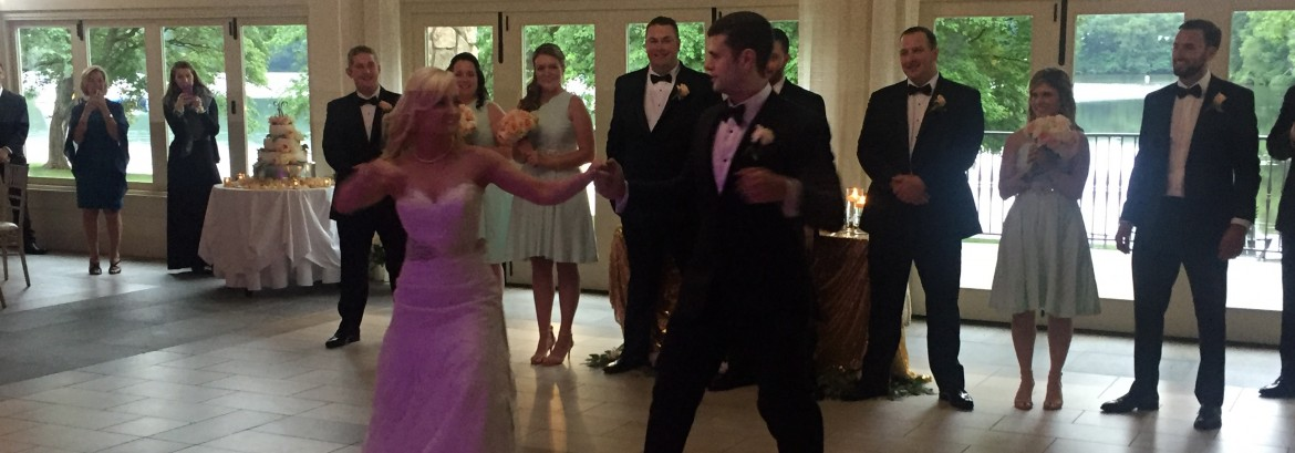 Megan and Scott Celebrate at the Indian Trail Club in Franklin Lakes, NJ