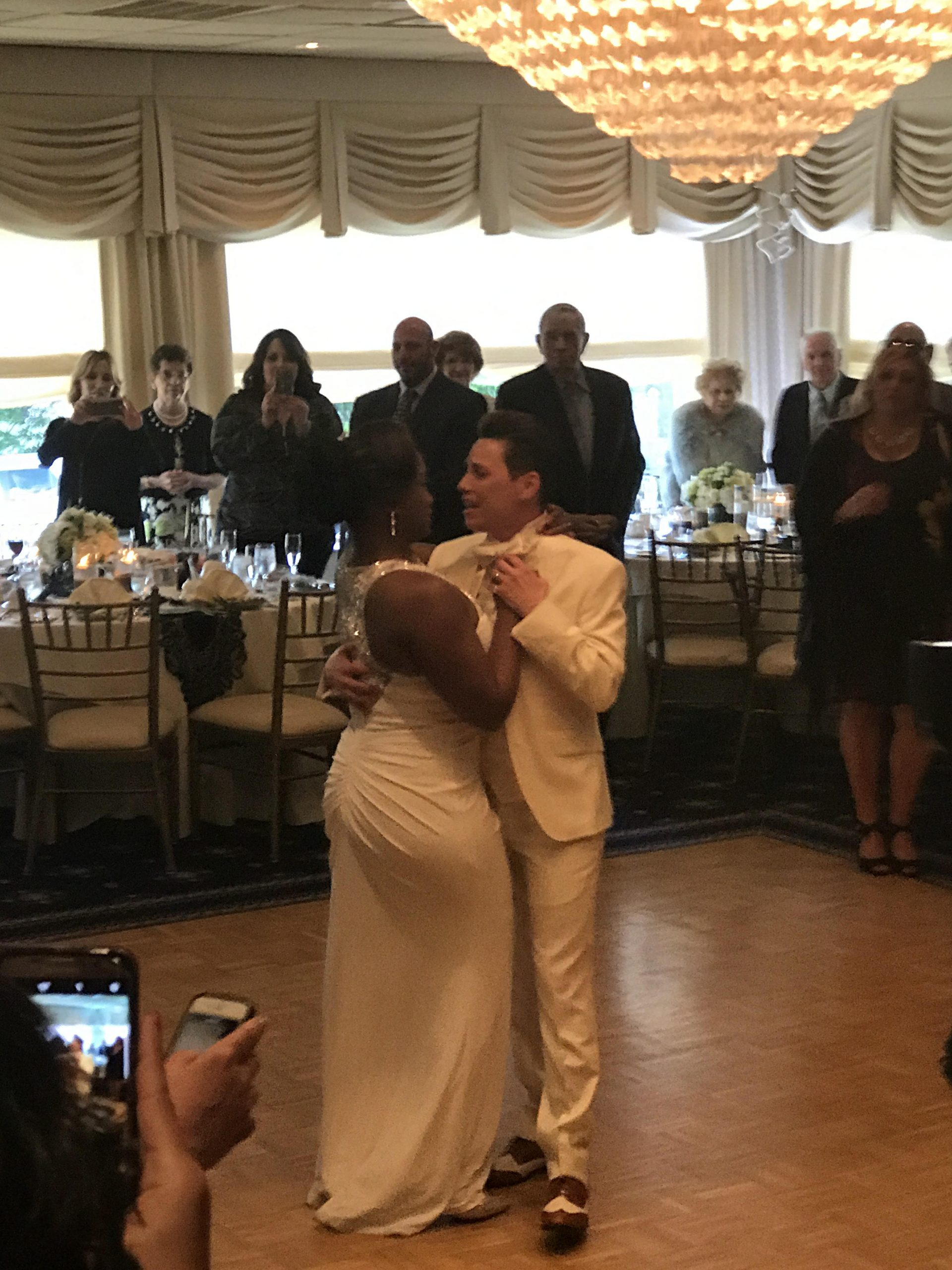 Terra and Paula's first dance