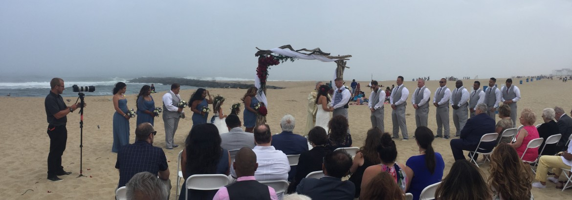 Monica and Sean's Beach Wedding