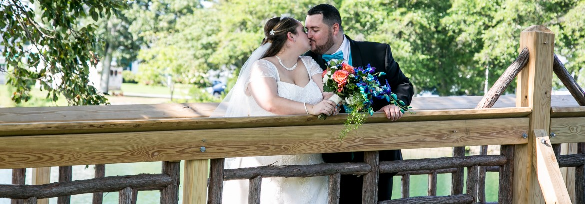 Meredith and Mike Celebrate Their Marriage at The Spring Lake Manor
