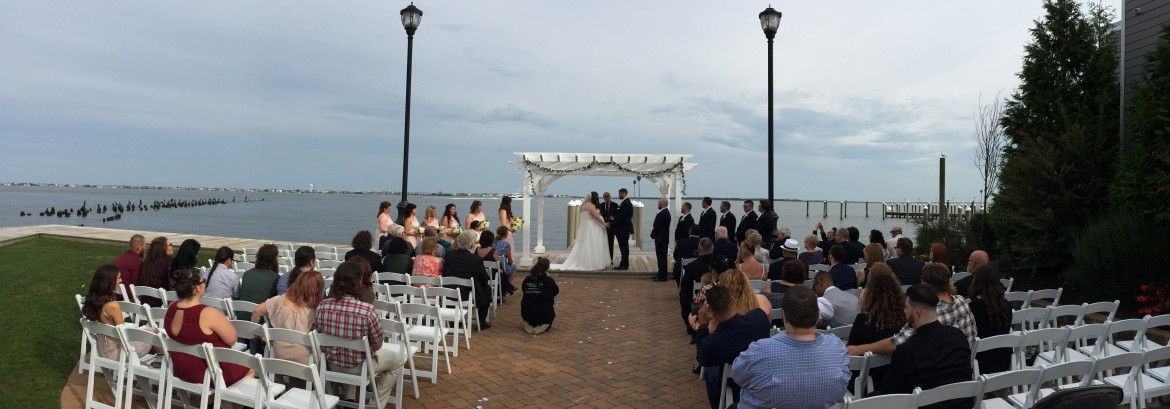 Valerie and Chris Get Married at The Waters Edge