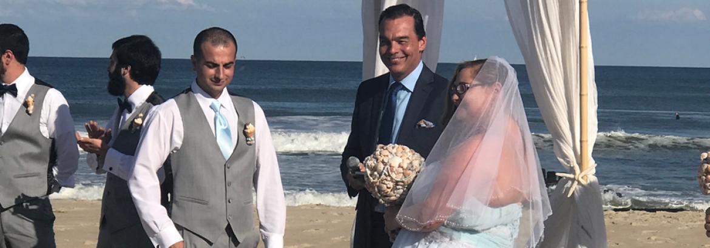 Joe and Jenn's Beach Wedding on a Perfect September Night