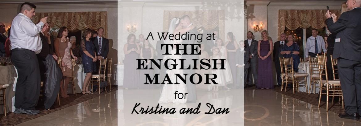 English Manor Wedding for Kristina & Dan