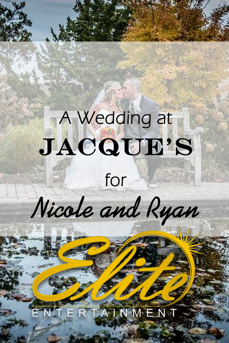 Elite Entertainment pin - Jacque's Wedding for Nicole and Ryan