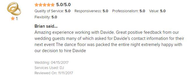 EliteEntertainment_WeddingWireReview_NJWedding_DavideFuoco 2017 4-15-17