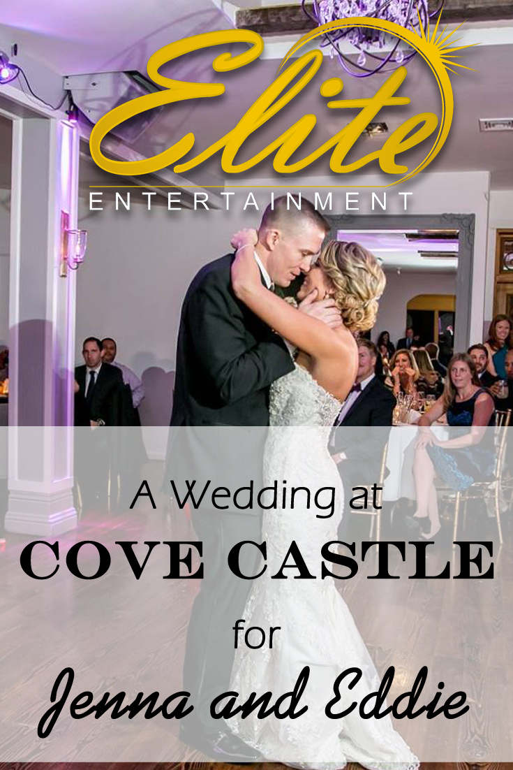 pin - Elite Entertainment Cove Castle Wedding for Jenna and Eddie