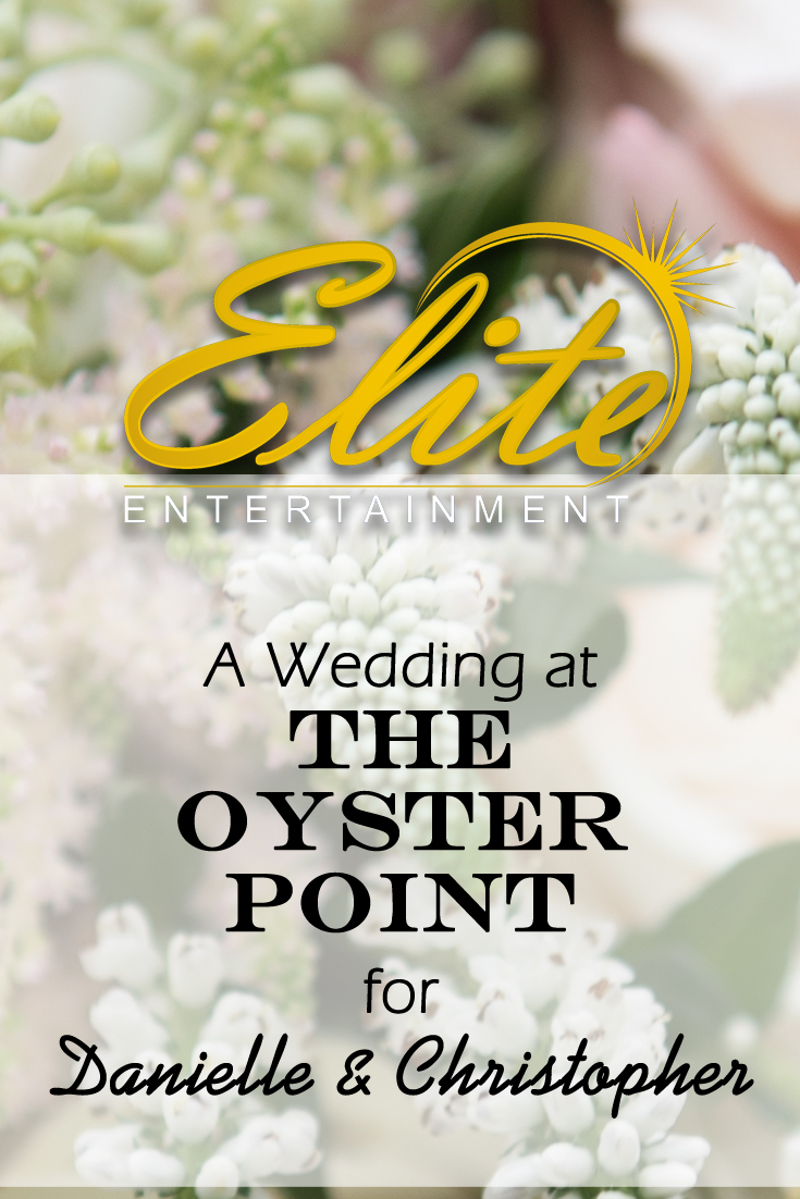 pin - Elite Entertainment Oyster Point Wedding for Danielle and Christopher