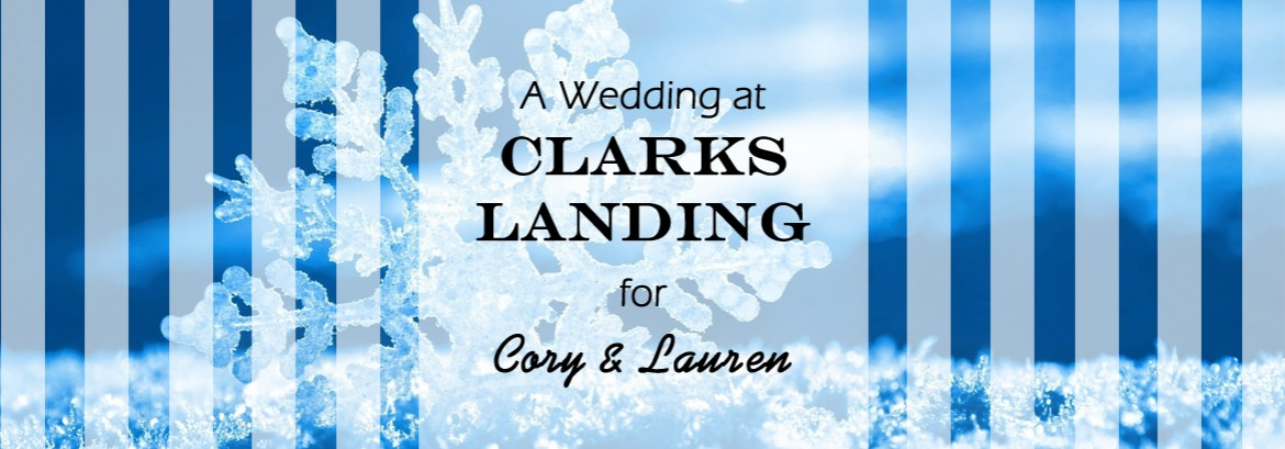 Clarks Landing Wedding for Cory and Lauren