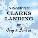 Clarks Landing Wedding for Cory and Lauren