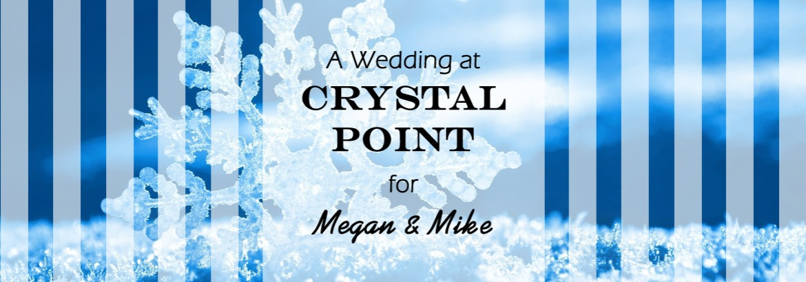 Crystal Point Wedding for Megan & Mike