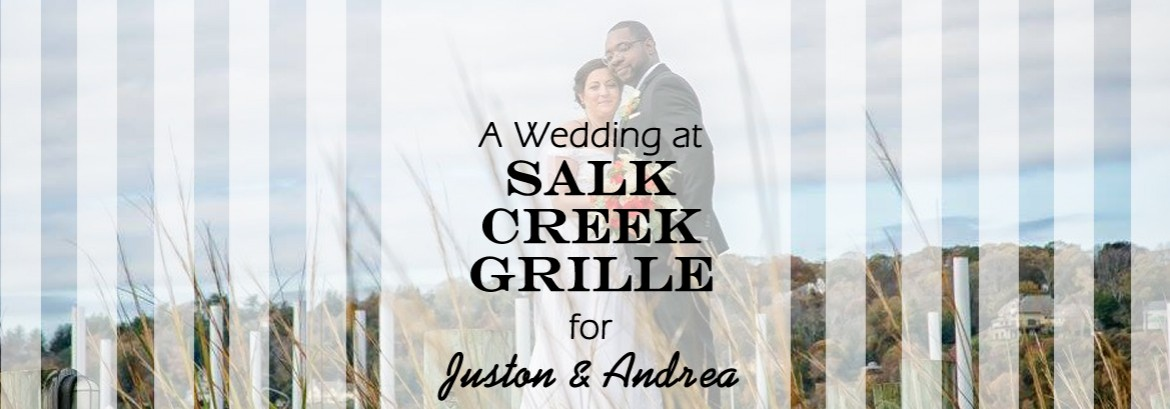 Salt Creek Grille Wedding for Juston and Andrea