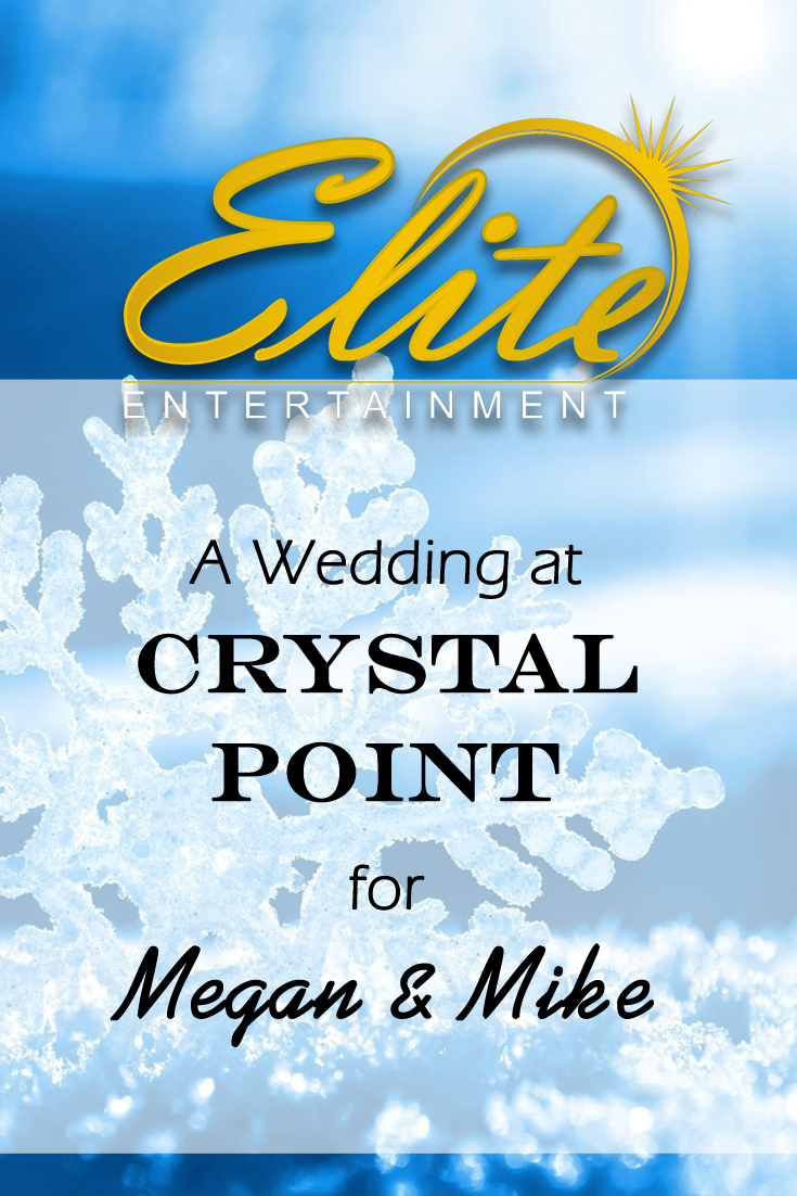 pin - Elite Entertainment - Crystal Point Wedding for Megan and Mike
