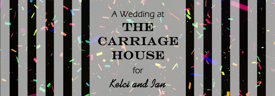 Carriage House Wedding for Kelci & Ian