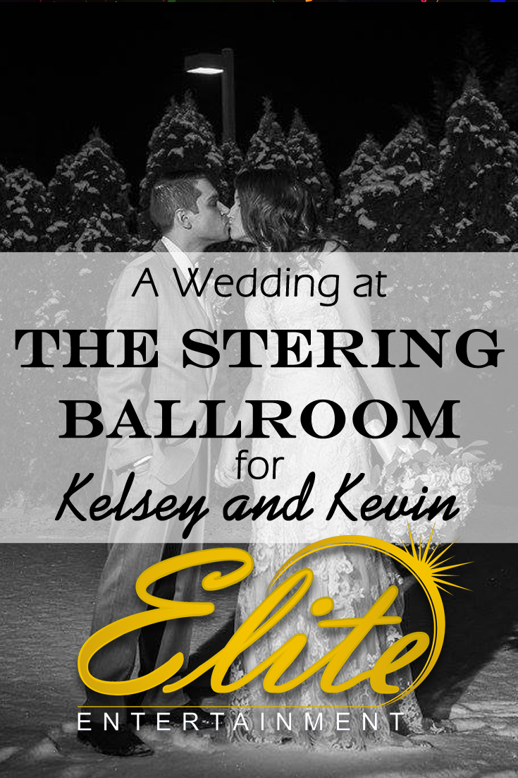 pin - Elite Entertainment - Wedding at Sterling Ballroom for Kelsey and Kevin