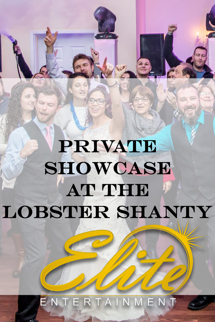 pin - Elite Entertainment - Lobster Shanty Private Showcase Feb 2018