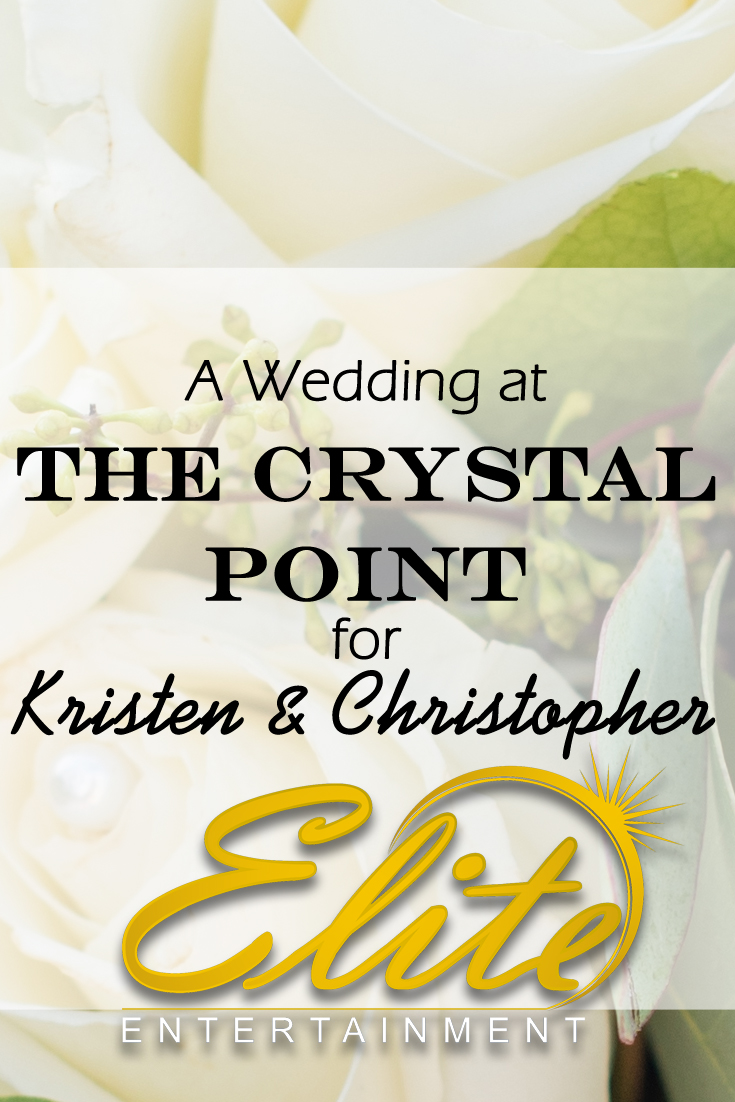 pin - Elite Entertainment - Crystal Point for Kristen and Christopher