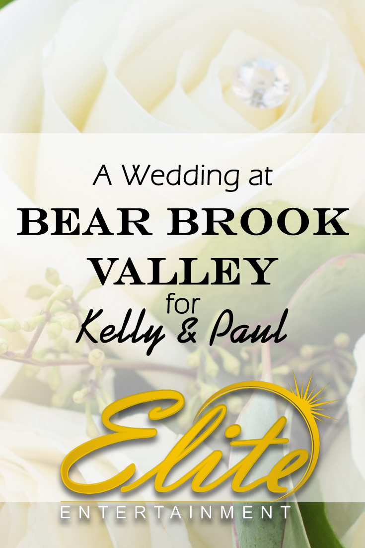 pin - Elite Entertainment - Bear Brook Valley Wedding for Kelly and Paul