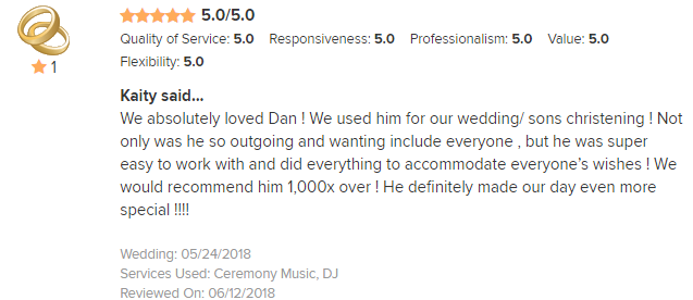 EliteEntertainment_WeddingWireReview_NJWedding_DanFumosa 2018 5-24-18