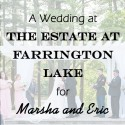 Estate on Farrington Lake Wedding for Marsha and Eric