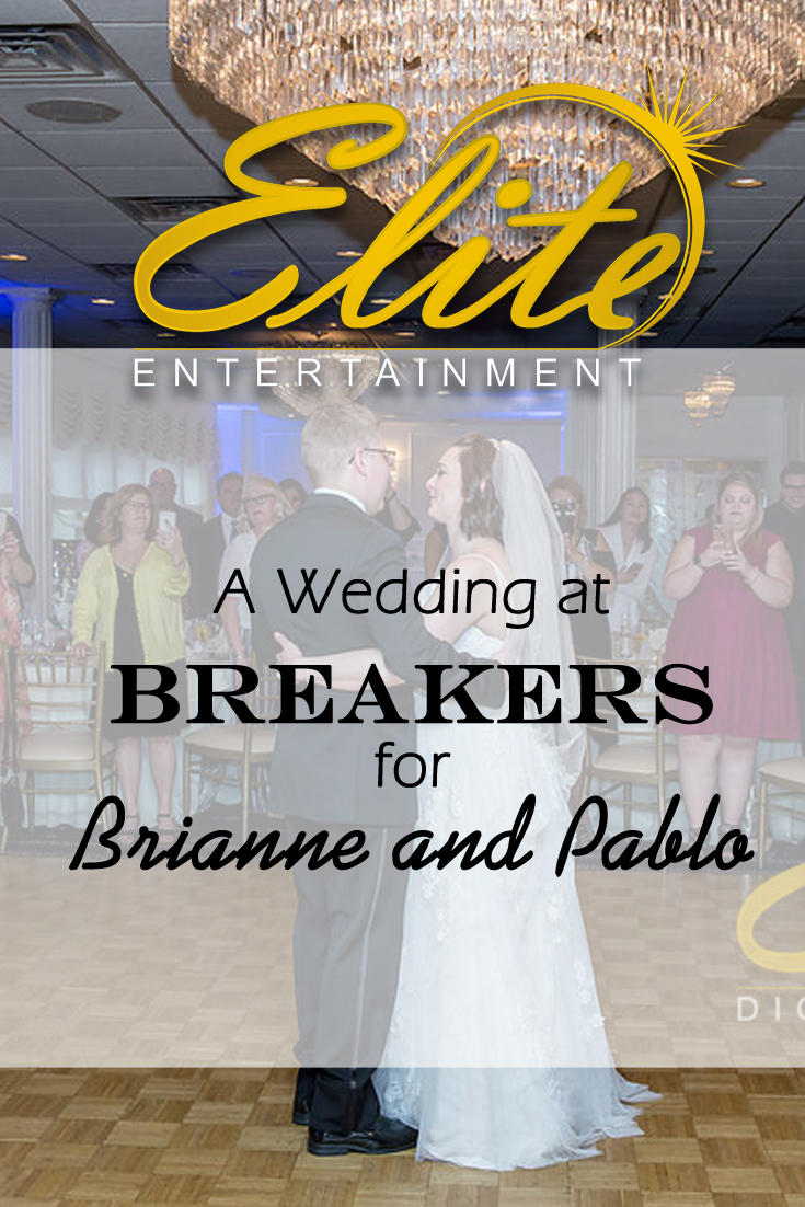 pin - Elite Entertainment - Wedding at Breakers for Brianne and Pablo