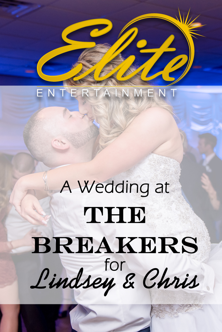 pin - Elite Entertainment - Wedding at Breakers for Lindsey and Chris
