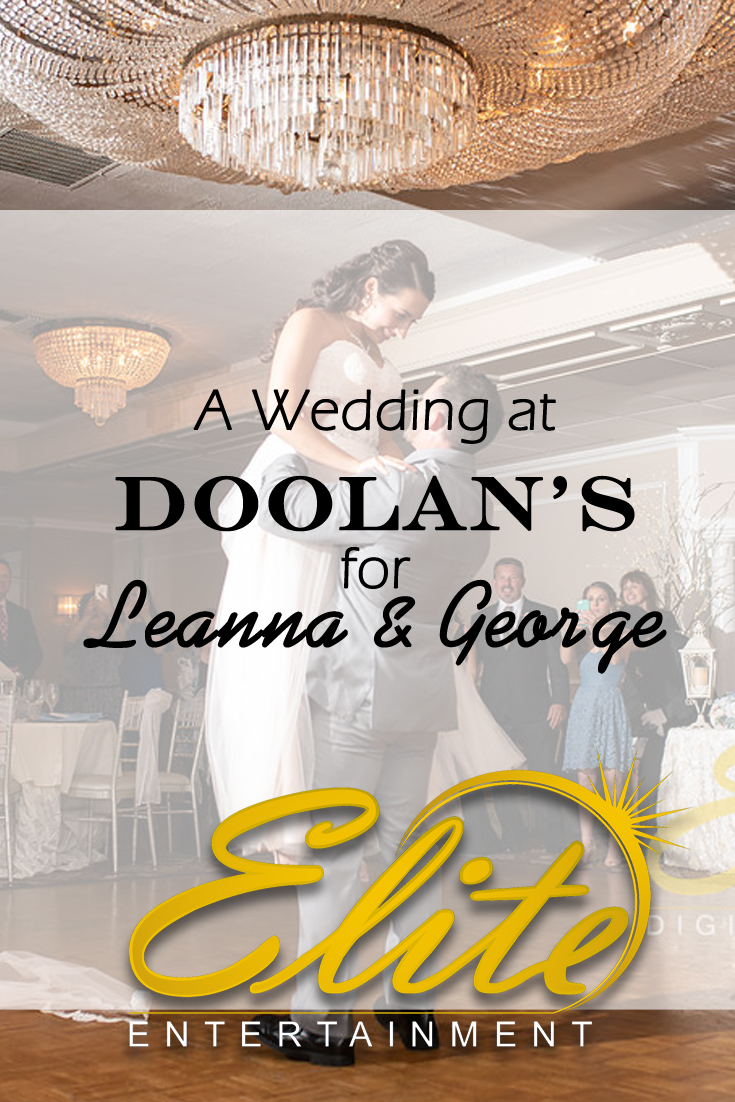pin - Elite Entertainment - Wedding at Doolans for Leanna and George