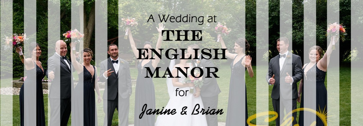 English Manor Wedding for Janine & Brian