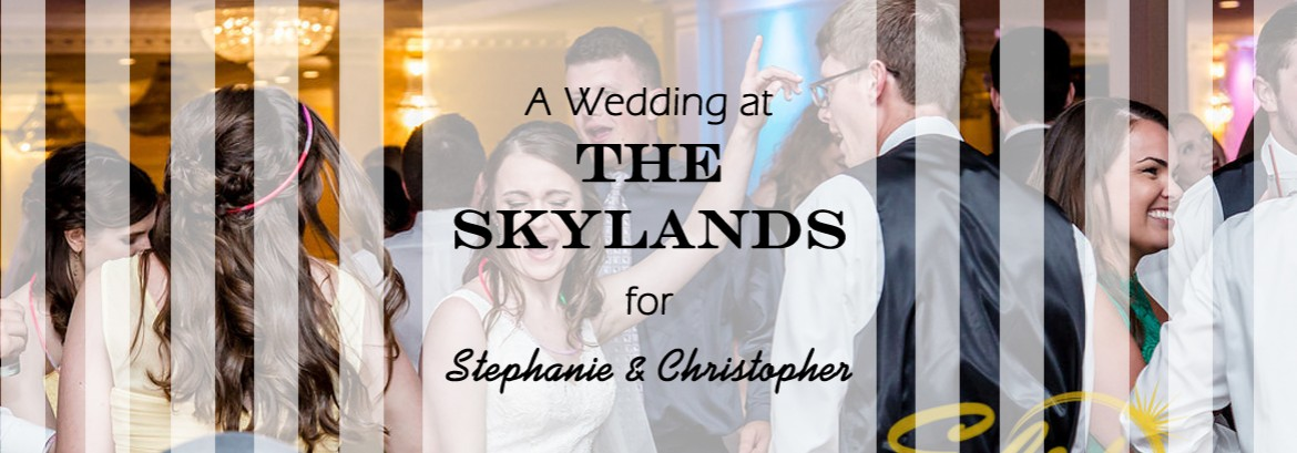 Skylands Wedding for Stephanie and Christopher