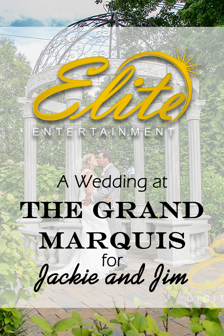 pin - Elite Entertainment - Wedding at Grand Marquis for Jackie and Jim