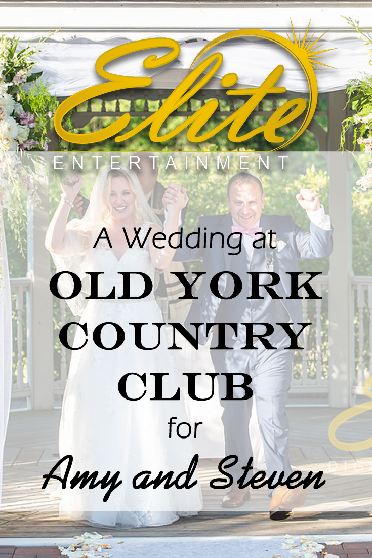 pin - Elite Entertainment - Wedding at Old York for Amy and Steven