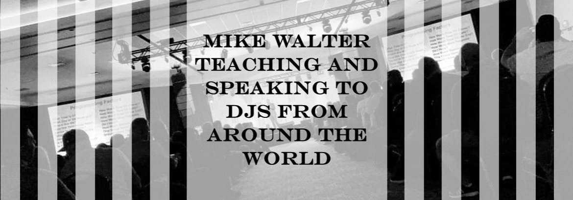 Mike Walter Teaching and Speaking to DJs From Around the World