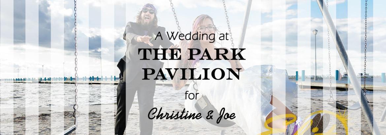 Park Pavilion Wedding for Christine & Joe