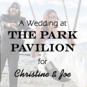 Park Pavilion Wedding for Christine & Joe