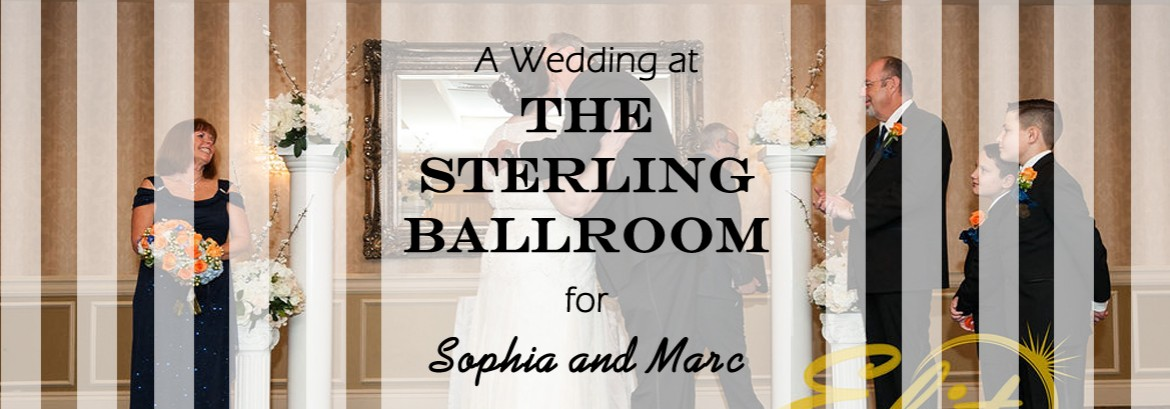 Sterling Ballroom at The Double Tree Wedding for Sophia and Marc