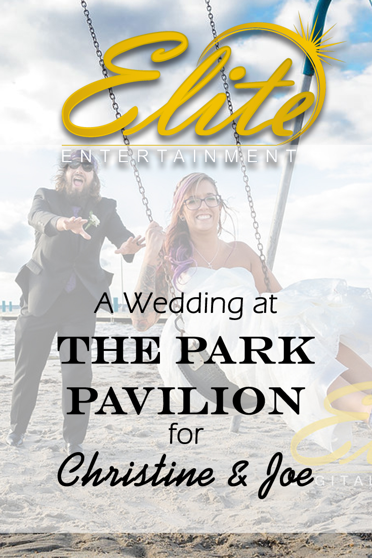pin - Elite Entertainment - Wedding at the Park Pavilion for Christine and Joe