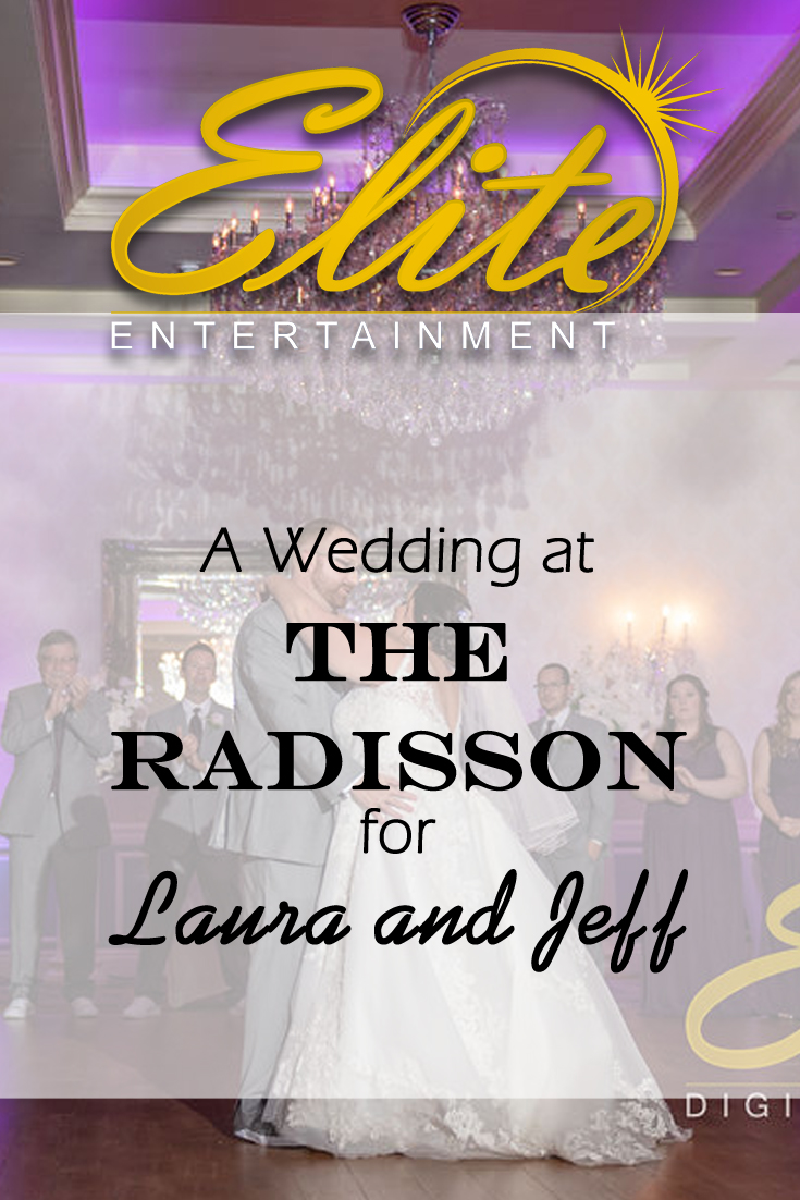 pin - Elite Entertainment - Wedding at the Radisson for Laura and Jeff